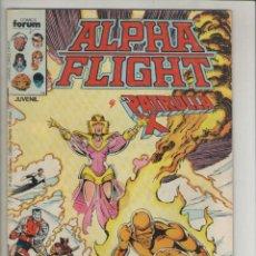 Cómics: ALPHA FLIGHT-AÑO 1986-FORUM-COLOR-FORMATO GRAPA-Nº 22-EL REGALO. Lote 127732127