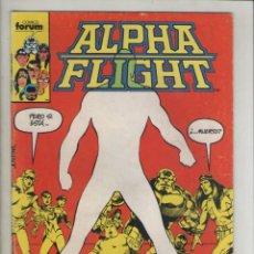 Cómics: ALPHA FLIGHT-AÑO 1986-FORUM-COLOR-FORMATO GRAPA-Nº 21-Y LOS MUERTOS SE LEVANTARAN DE SUS TUMBAS. Lote 127732375