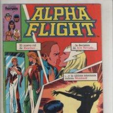 Cómics: ALPHA FLIGHT-AÑO 1986-FORUM-COLOR-FORMATO GRAPA-Nº 14-VOLVER A NACER. Lote 127732819