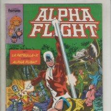 Cómics: ALPHA FLIGHT-AÑO 1986-FORUM-COLOR-FORMATO GRAPA-Nº 13-BUSCANDO MI OTRO YO. Lote 127733019