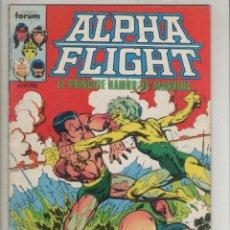 Cómics: ALPHA FLIGHT-AÑO 1986-FORUM-COLOR-FORMATO GRAPA-Nº 12-EN LA OSCURIDAD. Lote 127733199