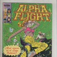 Cómics: ALPHA FLIGHT-AÑO 1986-FORUM-COLOR-FORMATO GRAPA-Nº 11-CLASE DE BIOLOGIA. Lote 127733323