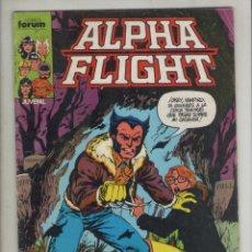 Cómics: ALPHA FLIGHT-AÑO 1986-FORUM-COLOR-FORMATO GRAPA-Nº 10-PESADILLA. Lote 127733527