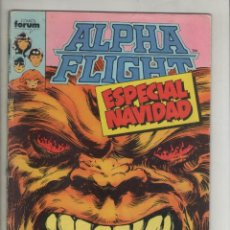 Cómics: ALPHA FLIGHT-AÑO 1986-FORUM-COLOR-FORMATO GRAPA-Nº 9-Y UNO MORIRA. Lote 127733635