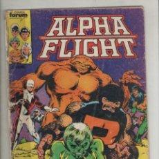 Cómics: ALPHA FLIGHT-AÑO 1986-FORUM-COLOR-FORMATO GRAPA-Nº 2-SOMBRAS DEL AYER. Lote 127733831