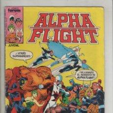 Cómics: ALPHA FLIGHT-AÑO 1986-FORUM-COLOR-FORMATO GRAPA-Nº 1-TUNDRA. Lote 127734039