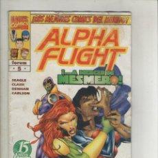 Cómics: ALPHA FLIGHT-VOL.2-AÑO 1996-FORUM-COLOR-FORMATO GRAPA-Nº 5-MESMERIZADOS. Lote 127734447