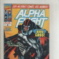Cómics: ALPHA FLIGHT-VOL.2-AÑO 1996-FORUM-COLOR-FORMATO GRAPA-Nº 2-EN LUCHA CONTRA LOS AMOS. Lote 127734623