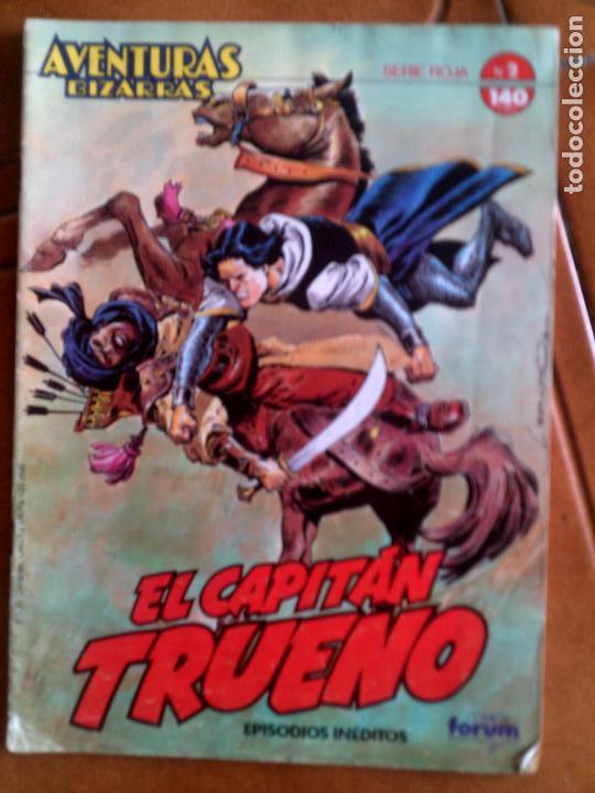 COMIC DE EL CAPITAN TRUENO AVENTURAS BIZARRAS N,2 SERIE ROJA (Tebeos y Comics - Forum - Otros Forum)