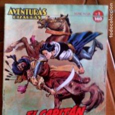 Cómics: COMIC DE EL CAPITAN TRUENO AVENTURAS BIZARRAS N,2 SERIE ROJA. Lote 127953267
