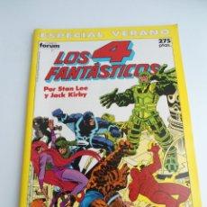 Cómics: LOS 4 FANTASTICOS - ESPECIAL VERANO - FORUM 1990 - EXCELENTE ESTADO. Lote 127888787
