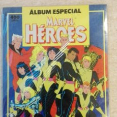 Cómics: ALBUM ESPECIAL MARVEL HEROES. Lote 128090095