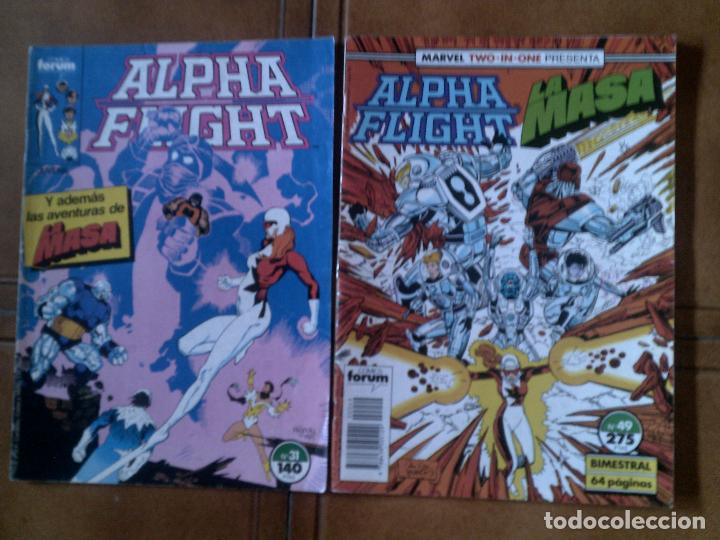 COMICS DE ALPHA FLIGHT N,49 Y 31 (Tebeos y Comics - Forum - Alpha Flight)