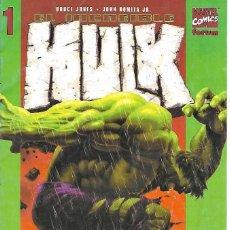 Cómics: INCREIBLE HULK Nº 1 FORUM 2003 JONES Y ROMITA JR. MUY BUEN ESTADO-IMPORTANTE LEER TODO. Lote 128146599
