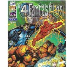 Cómics: LOS 4 FANTASTICOS Nº 1 FORUM HEROES REBON 1997. PERFECTO ESTADO. Lote 128146799