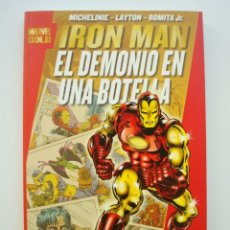 Cómics: IRON MAN - EL DEMONIO EN LA BOTELLA (MARVEL GOLD) (FORUM). Lote 128243775