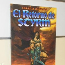 Cómics: CONAN EL BARBARO EL RETORNO DE STYRM - FORUM - OCASION. Lote 128275547