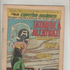 Cómics: CAPITAN AMERICA-FORUM-COLOR-AÑO 1981-FORMATO GRAPA-Nº 2-ATAQUE A ALCATRAZ. Lote 128328227