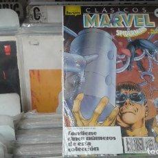 Cómics: CLÁSICOS MARVEL RETAPADO Nº 31 AL 35,SPIDERMAN,STAN LEE,NUEVO. Lote 128330587