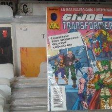 Cómics: G.I JOE Y LOS TRANSFORMERS, RETAPADO CON LOS NºS. 21, 22 Y 23.NUEVO. Lote 128330867
