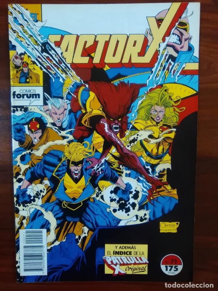 FACTOR X - VOLUMEN 1 - NUMERO 71 - MARVEL COMICS - FORUM (Tebeos y Comics - Forum - Factor X)