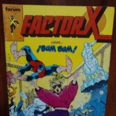 Cómics: FACTOR X - NUMERO 12 - VOLUMEN 1 - MARVEL COMICS - FORUM. Lote 128339347