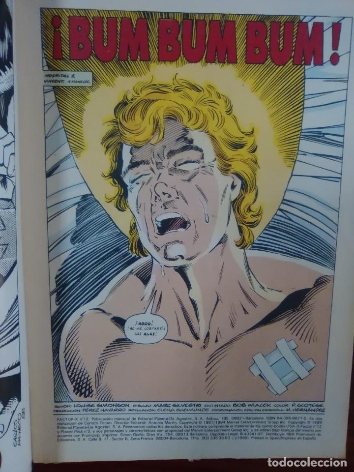 Cómics: FACTOR X - NUMERO 12 - VOLUMEN 1 - MARVEL COMICS - FORUM - Foto 2 - 128339347