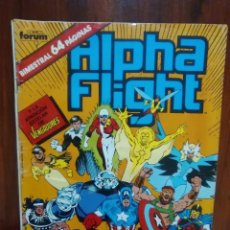 Cómics: ALPHA FLIGHT - NUMERO 37 - VOLUMEN 1 - MARVEL COMICS - FORUM. Lote 128340015