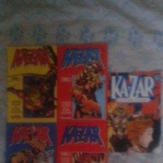 Cómics: KA-ZAR: COLECCIÓN COMPLETA EN 4 RETAPADOS + 1 ESPECIAL: FORUM. Lote 128390747