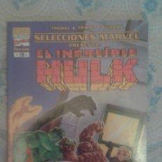 Cómics: EL INCREIBLE HULK: CURA PARA UN MONSTRUO: SELECCIONES MARVEL ESPECIAL: FORUM. Lote 128391479