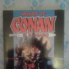 Cómics: CONAN: WHAT IF: TOMO MUY DIFICIL: FORUM. Lote 157729558