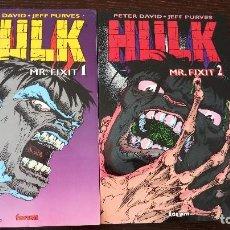 Cómics: HULK. MR. FIXIT (TOMOS 1 Y 2). Lote 128409807