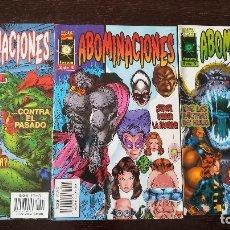 Cómics: EL INCREÍBLE HULK: ABOMINACIONES 1 AL 3 (COMPLETA). Lote 128411263