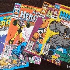 Cómics: MARVEL HEROES: EL INCREÍBLE HULK. CUENTA ATRÁS (1 AL 4). Lote 128411703