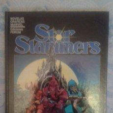 Cómics: STAR SLAMMERS: NOVELAS GRAFICAS MARVEL: FORUM. Lote 128444115