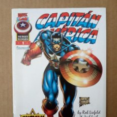 Cómics: CAPITÁN AMÉRICA Nº 1. HEROES REBORN, POR ROB LIEFELD Y JEPH LOEB. Lote 128463999