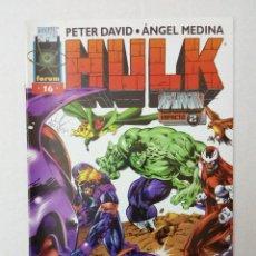 Cómics: HULK VOL. 2 Nº 16, POR PETER DAVID Y ANGEL MEDINA. Lote 128464275