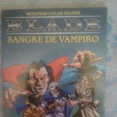 Cómics: BLADE: SANGRE DE VAMPIRO: GENE COLAN: FORUM. Lote 128489199