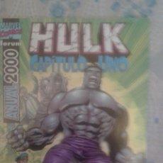 Cómics: HULK: CAPITULO UNO: ANUAL 2000: FORUM. Lote 128489443