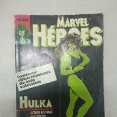 Cómics: MARVEL HEROES (HULKA-CONTROL DE DAÑOS) RETAPADO (NUMEROS 36 A 40). Lote 128554967