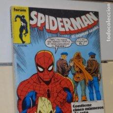 Cómics: SPIDERMAN EL HOMBRE ARAÑA CONTIENE LOS Nº 141-142-143-144 Y 145 EN UN RETAPADO - FORUM - OFERTA. Lote 128566639