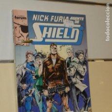 Cómics: NICK FURIA AGENTE DE SHIELD CONTIENE LOS Nº 1-2-3-4 Y 5 EN UN RETAPADO - FORUM - OFERTA. Lote 128568851