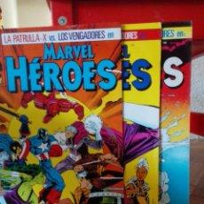 Cómics: MARVEL HEROES 7,8 Y 9. Lote 134000647