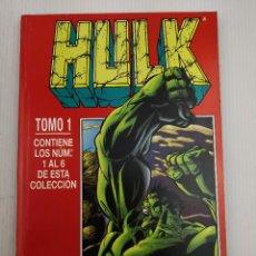 Cómics: HULK TOMO 1 DEL 1 AL 6. Lote 128591759
