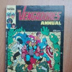 Cómics: LOS VENGADORES ANNUAL.ESPECIAL PRIMAVERA 1987. Lote 128606775