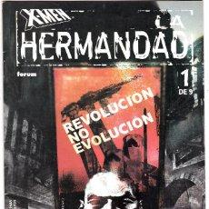 Cómics: X-MEN LA HERMANDAD NÚMERO 1 DE 9 CÓMICS FÓRUM MARVEL. Lote 128682735