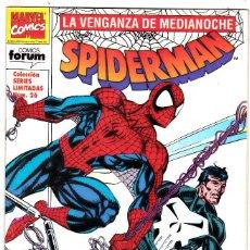 Cómics: SERIES LIMITADAS Nº 26 SPIDERMAN LA VENGANZA DE MEDIANOCHE Nº 6 - FORUM - . Lote 128682867