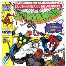 Cómics: SERIES LIMITADAS Nº 22 SPIDERMAN LA VENGANZA DE MEDIANOCHE Nº 2 - FORUM - . Lote 128683191