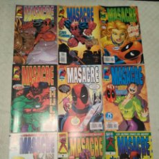 Cómics: MASACRE #1-31 (COMPLETA + 2 ESPECIALES). Lote 128684203