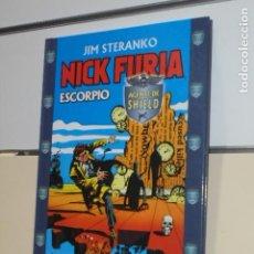 Cómics: TOMO TAPA DURA NICK FURIA ESCORPIO JIM STERANKO - FORUM -. Lote 128738267